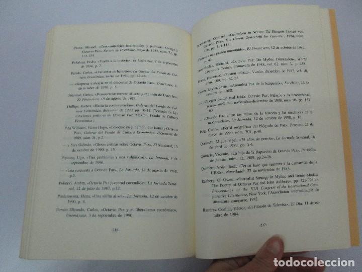 Libros de segunda mano: BIOGRAFIA POLITICA DE OCTAVIO PAZ O LA RAZON ARDIENTE. FERNANDO VIZCAINO. ALGAZARA 1993. VER FOTOS - Foto 17 - 85213612
