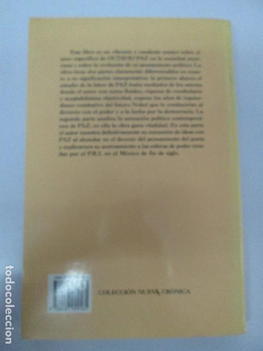 Libros de segunda mano: BIOGRAFIA POLITICA DE OCTAVIO PAZ O LA RAZON ARDIENTE. FERNANDO VIZCAINO. ALGAZARA 1993. VER FOTOS - Foto 20 - 85213612