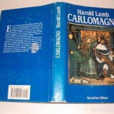 Libri di seconda mano: HAROLD LAMB. CARLOMAGNO. RMT80701. . Lote 86415056