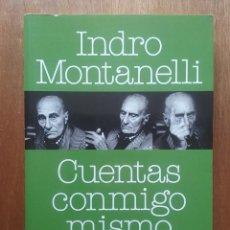 Libros de segunda mano: CUENTAS CONMIGO MISMO, INDRO MONTANELLI, DIARIOS 1957 1978, LA ESFERA DE LOS LIBROS, 2010. Lote 86509408