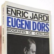 Libros de segunda mano: EUGENI D'ORS - ENRIC JARDÍ. Lote 86656424