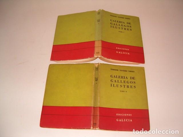 TEODOSIO VESTEIRO TORRES. GALERÍA DE GALLEGOS ILUSTRES. TOMOS I Y II. DOS TOMOS. RM80894. (Libros de Segunda Mano - Biografías)