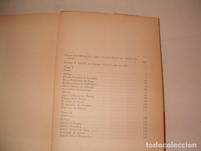 Libros de segunda mano: TEODOSIO VESTEIRO TORRES. Galería de Gallegos Ilustres. Tomos I y II. DOS TOMOS. RM80894. - Foto 2 - 86808288