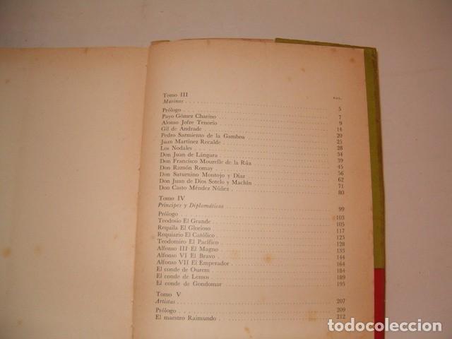 Libros de segunda mano: TEODOSIO VESTEIRO TORRES. Galería de Gallegos Ilustres. Tomos I y II. DOS TOMOS. RM80894. - Foto 4 - 86808288