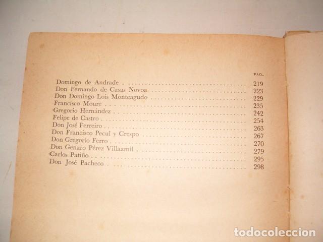 Libros de segunda mano: TEODOSIO VESTEIRO TORRES. Galería de Gallegos Ilustres. Tomos I y II. DOS TOMOS. RM80894. - Foto 5 - 86808288
