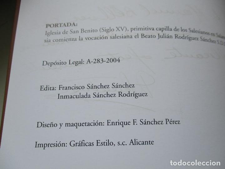 Libros de segunda mano: BEATO JULIÁN RODRÍGUEZ SÁNCHEZ-FRANCISCO SÁNCHEZ SÁNCHEZ-2004 - Foto 3 - 86852304