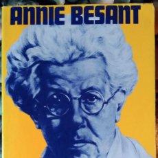 Second hand books - Annie Besant . Autobiografía - 86941216