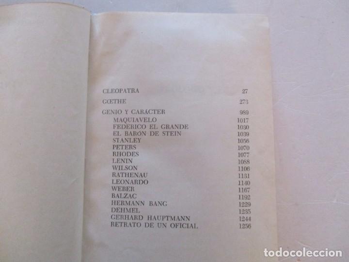 Libros de segunda mano: EMIL LUDWIG. Obras Completas. Tomos I, II, III, IV y V: Biografías. CINCO TOMOS. RM81099. - Foto 2 - 87581432