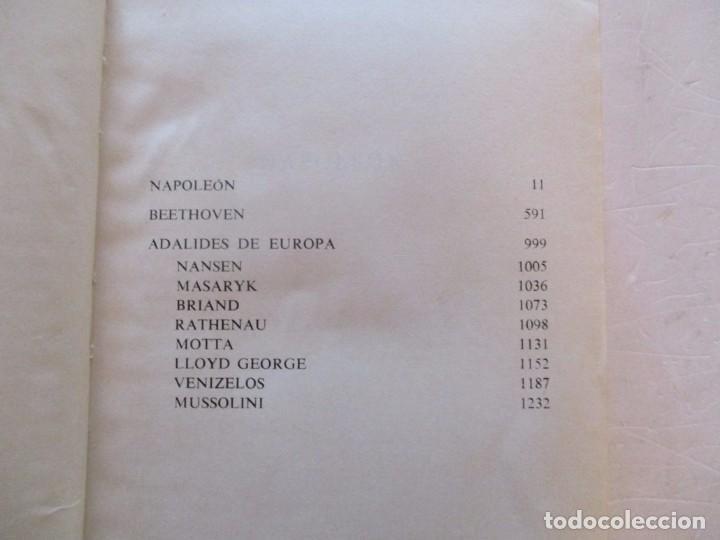 Libros de segunda mano: EMIL LUDWIG. Obras Completas. Tomos I, II, III, IV y V: Biografías. CINCO TOMOS. RM81099. - Foto 4 - 87581432