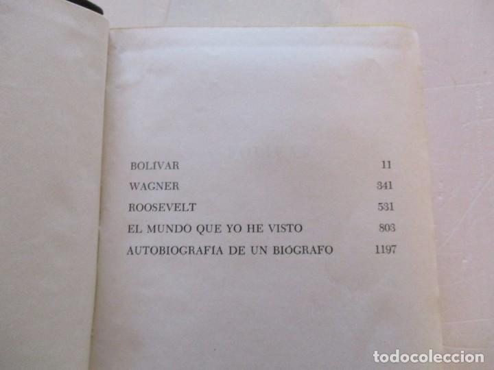 Libros de segunda mano: EMIL LUDWIG. Obras Completas. Tomos I, II, III, IV y V: Biografías. CINCO TOMOS. RM81099. - Foto 5 - 87581432
