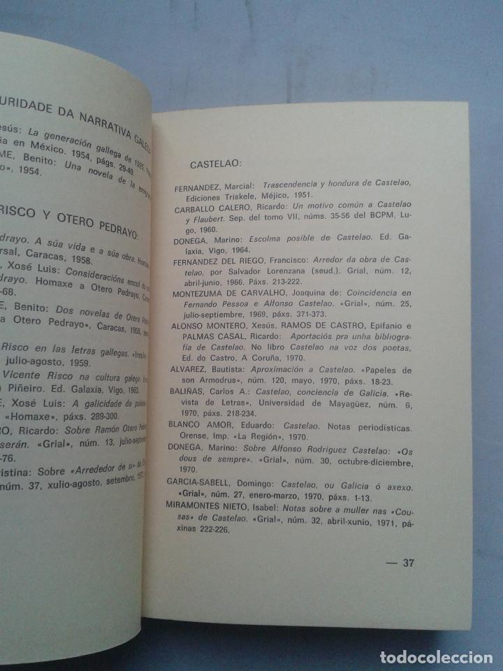 Libros de segunda mano: Singraduras da Narrativa Galega. De Castelao a Neira Vilas. Benito Varela Jácome. - Foto 2 - 88916116