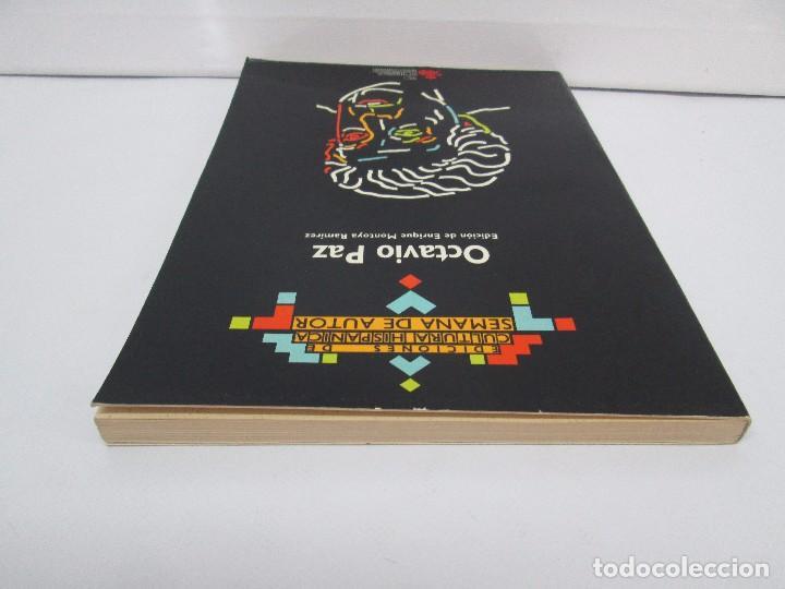 Libros de segunda mano: OCTAVIO PAZ. EDICION DE ENRIQUE MONTOYA RAMIREZ. CULTURA HISPANICA 1989. VER FOTOGRAFIAS ADJUNTAS - Foto 5 - 89058144