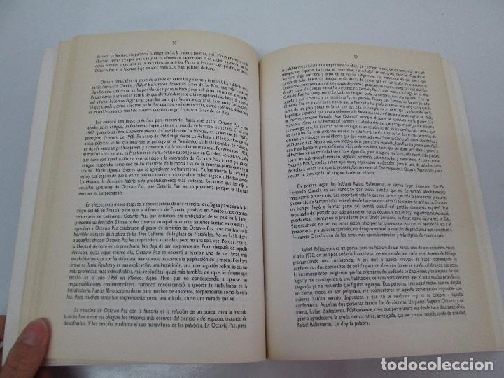 Libros de segunda mano: OCTAVIO PAZ. EDICION DE ENRIQUE MONTOYA RAMIREZ. CULTURA HISPANICA 1989. VER FOTOGRAFIAS ADJUNTAS - Foto 10 - 89058144
