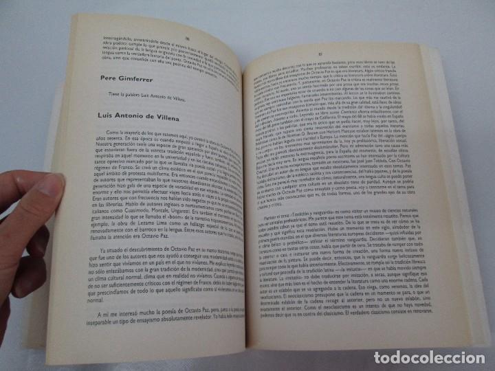 Libros de segunda mano: OCTAVIO PAZ. EDICION DE ENRIQUE MONTOYA RAMIREZ. CULTURA HISPANICA 1989. VER FOTOGRAFIAS ADJUNTAS - Foto 12 - 89058144