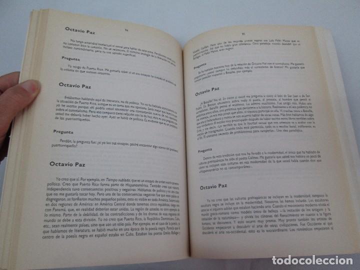 Libros de segunda mano: OCTAVIO PAZ. EDICION DE ENRIQUE MONTOYA RAMIREZ. CULTURA HISPANICA 1989. VER FOTOGRAFIAS ADJUNTAS - Foto 16 - 89058144