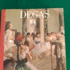 Libros de segunda mano: DEGAS - Nº 18 COLECCION LOS GRANDES GENIOS DEL ARTE . Lote 90110552
