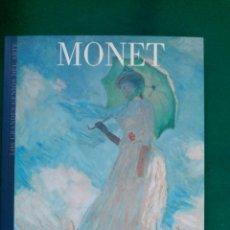 Libros de segunda mano: MONET - Nº 7 COLECCION LOS GRANDES GENIOS DEL ARTE . Lote 90110676