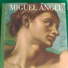 Libros de segunda mano: MIGUEL ANGEL - Nº 4 COLECCION LOS GRANDES GENIOS DEL ARTE . Lote 90110964