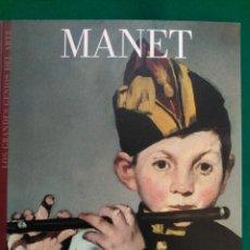 Libros de segunda mano: MANET - Nº 15 COLECCION LOS GRANDES GENIOS DEL ARTE . Lote 90111684