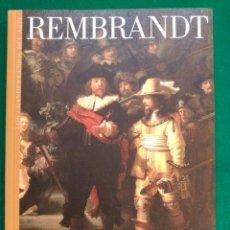 Libros de segunda mano: REMBRANDT - Nº 11 COLECCION LOS GRANDES GENIOS DEL ARTE . Lote 90111792
