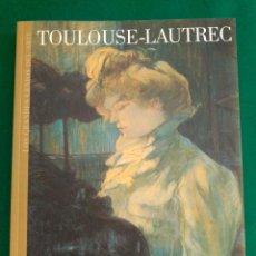 Libros de segunda mano: TOULOUSE-LAUTREC - Nº 20 COLECCION LOS GRANDES GENIOS DEL ARTE . Lote 90111940