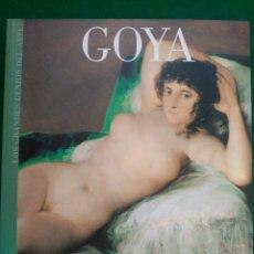 Libros de segunda mano: GOYA - Nº 2 COLECCION LOS GRANDES GENIOS DEL ARTE . Lote 90112744