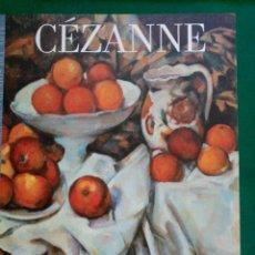 Libros de segunda mano: CËZANNE- Nº 19 COLECCION LOS GRANDES GENIOS DEL ARTE . Lote 90112836