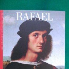 Libros de segunda mano: RAFAEL - Nº 6 COLECCION LOS GRANDES GENIOS DEL ARTE . Lote 90113124