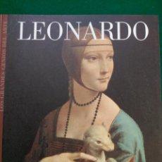 Libros de segunda mano: LEONARDO DA VINCI - Nº 17 COLECCION LOS GRANDES GENIOS DEL ARTE . Lote 90113232