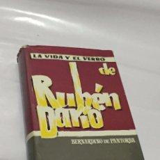Libros de segunda mano: LA VIDA Y EL VERBO DE RUBÉN DARÍO, DE BERNARDINO DE PANTORBA. Lote 90418289