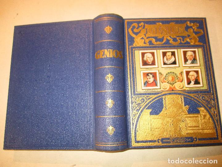 Libros de segunda mano: GENIOS-NAPOLEON-CERVANTES-GOYA-COLON..EDITORIAL RAMON SOPENA - Foto 2 - 90453994