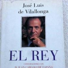 Libros de segunda mano: EL REY - JOSÉ LUIS DE VILALLONGA. Lote 91753095
