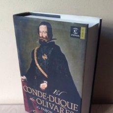 Libros de segunda mano: GREGORIO MARAÑON - EL CONDE DUQUE DE OLIVARES, LA PASION DE MANDAR - ESPASA 2006. Lote 92084785