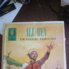 Livres d'occasion: ALI BEY, UN VIAJERO FABULOSO. LIBRO COMIC DE TORAY. 1983. Lote 93568925