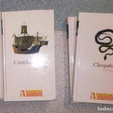 Libros de segunda mano: BIBLIOTECA ABC. PROTAGONISTAS DE LA HISTORIA: LOTE DE 5 LIBROS (EI). Lote 93847890