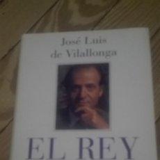 Libros de segunda mano: EL REY JOSE LUIS DE VILALLONGA. Lote 94990195