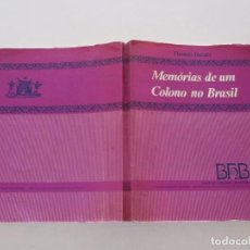 Libros de segunda mano: THOMAS DAVATZ. MEMÓRIAS DE UM COLONO NO BRASIL. (1850). RM82146. . Lote 95144739