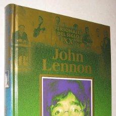 Libros de segunda mano: JOHN LENNON - PERSONAJES DEL SIGLO XX - FOTOGRAFIAS *. Lote 95293143