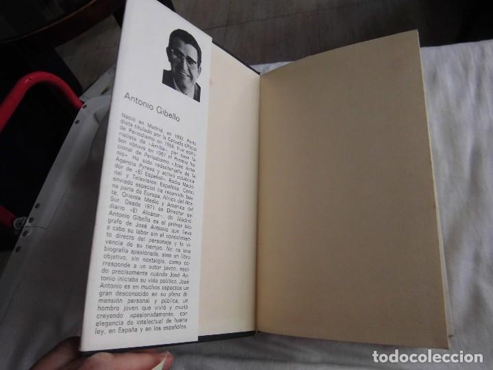 Libros de segunda mano: JOSE ANTONIO APUNTES PARA UNA BIOGRAFIA POLEMICA.ANTONIO GIBELLO.DONCEL - Foto 3 - 95618655