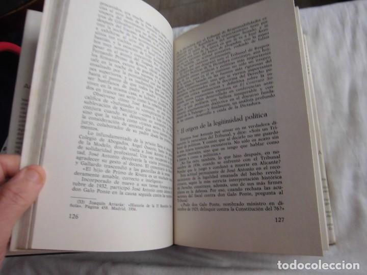 Libros de segunda mano: JOSE ANTONIO APUNTES PARA UNA BIOGRAFIA POLEMICA.ANTONIO GIBELLO.DONCEL - Foto 6 - 95618655