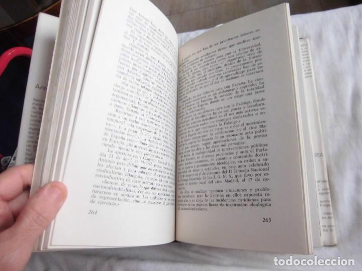 Libros de segunda mano: JOSE ANTONIO APUNTES PARA UNA BIOGRAFIA POLEMICA.ANTONIO GIBELLO.DONCEL - Foto 7 - 95618655