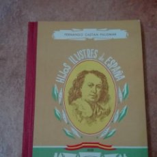 Libros de segunda mano: HIJOS ILUSTRES DE ESPAÑA MURILLO PRIMERA EDICIÓN EDITORIAL SÁNCHEZ RODRIGO PLASENCIA 1960. Lote 95755703