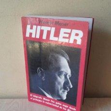 Libros de segunda mano: WERNER MASER - HITLER - EDICIONES ACERVO 1983. Lote 95803111