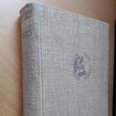 Libros de segunda mano: CERVANTES. SEBASTIAN JUAN ARBO. EDIT. EL ZODIACO. 1945.. Lote 97057151