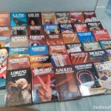 Libros de segunda mano: COLECCION LIBROS - 40 TOMOS BIBLIOTECA SALVAT DE GRANDES BIOGRAFIAS - 1985 - VER FOTOS. Lote 97398443