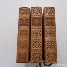 Libros de segunda mano: ALAIN-RENÉ LESAGE. GIL BLAS DE SANTILLANA. EDICIÓN FACSIMILAR. TRES TOMOS. RM82978. . Lote 97482551