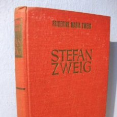 Libros de segunda mano: BIOGRAFÍA DE STEFAN ZWEIG POR FRIDERIKE MARIA ZWEIG, SU PRIMERA ESPOSA. HISPANO AMERICANA EDICIONES. Lote 98026427