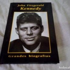Libros de segunda mano: JHON FITZGERALD KENNEDY - GRANDES BIOGRAFIAS - EDICIONES RUEDA 1999. Lote 98195287