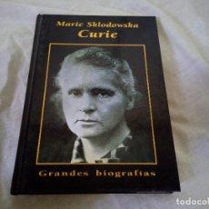 Libros de segunda mano: MARIE CURIE - GRANDES BIOGRAFIAS - EDICIONES RUEDA 1999. Lote 98196287