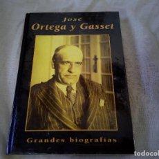 Libros de segunda mano: CROCHET ORTEGA Y GASSET- GRANDES BIOGRAFIAS - EDICIONES RUEDA 1999. Lote 98198235
